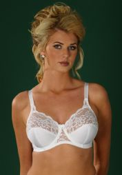 Silhouette Lingerie 'Paysanne' Underwired Full Cup Bra with Lace ( 4052IE )